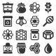 Honey Icons Set on White Background - GraphicRiver Item for Sale