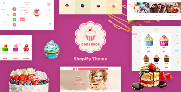 Cake Shop - Cafe Shopify Theme