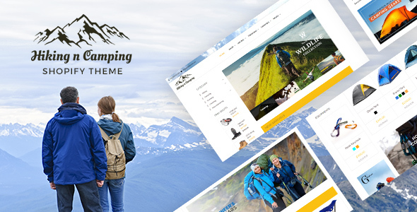 Adventure Store, Hiking and Camping Shopify Theme