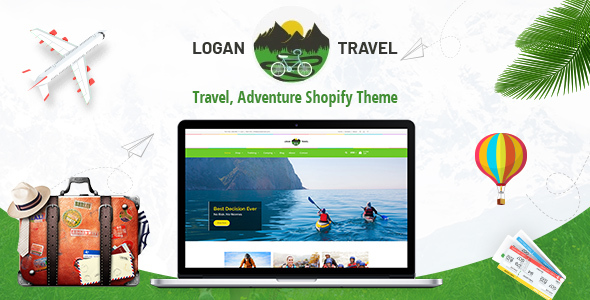 Logan - Adventure, Travel Store Shopify Theme