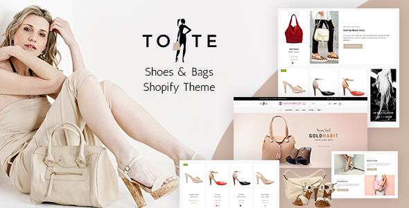Tote   Bags & Shoes Shop Shopify Theme
