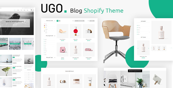 Ugo – Blog Shopify Theme Nulled Free Download