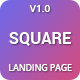 Square - Premium High Converting SaaS Landing Page Template - ThemeForest Item for Sale