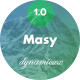 Masy - Responsive Email + Online Template Builder - ThemeForest Item for Sale