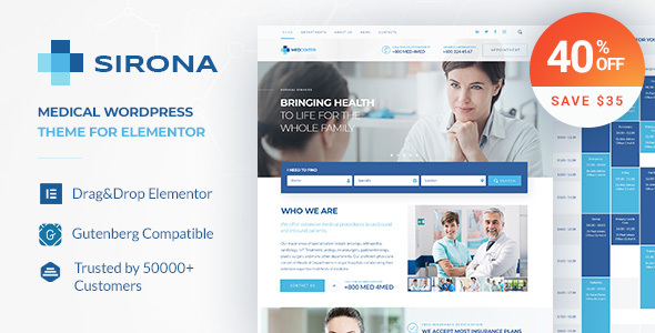 Sirona - Health and Medical Clinic