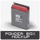 Cosmetic Powder Container Mock-Up - GraphicRiver Item for Sale