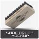 Shoe Brush Mock-Up - GraphicRiver Item for Sale