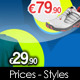 Prices - Text Styles - GraphicRiver Item for Sale