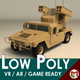 Low Poly Military 4x4 04 - 3DOcean Item for Sale