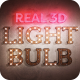 Real 3D Light Bulb Kit - VideoHive Item for Sale