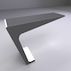 Worktable wall-based - 3DOcean Item for Sale