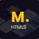 Mak - Portfolio  Resume HTML5 Template - ThemeForest Item for Sale