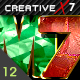 CreativeX7 - 12 Photoshop Gems Styles - GraphicRiver Item for Sale