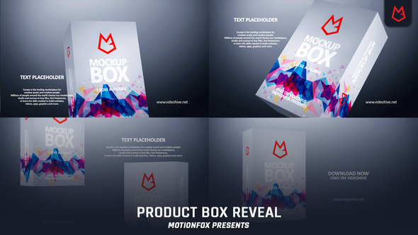 Product Box Reveal