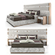 Luxury italian bed by Juliettesinteriors - 3DOcean Item for Sale