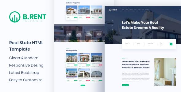 Bizrent - Property Real Estate HTML Template