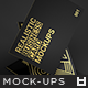 Realistic Business Card Mockups v1 - GraphicRiver Item for Sale