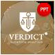 Verdict Law Presentation Template - GraphicRiver Item for Sale