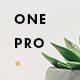 OnePro - Responsive Onepage WordPress Theme