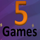 5 complete game bundle .(Android Studio+Admob) MEGA OFFER - CodeCanyon Item for Sale