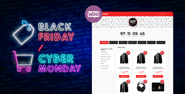 Black Friday / Cyber Monday Mode Plugin for WooCommerce