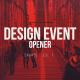 Design Event Opener - VideoHive Item for Sale