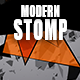 Energetic Percussion Stomp Logo