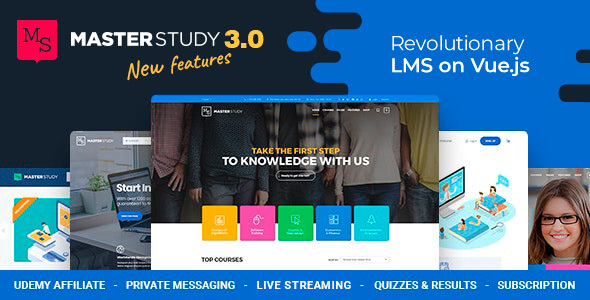 Education WordPress Theme - Masterstudy