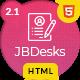 JBDesks - Job Board and Dashboard HTML5 Template - ThemeForest Item for Sale
