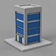 3D Building Icon - 3DOcean Item for Sale