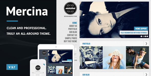 Mercina - MultiPurpose WordPress Theme