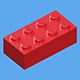 LEGO Brick Collection - 35 pieces - 3DOcean Item for Sale