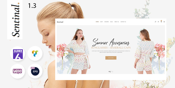 Sentinal - Fashion  Modern Shop WooCommerce Theme