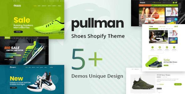 Pullman – Shoes Store Shopify Theme