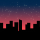 Night Ambiance in The City - AudioJungle Item for Sale