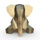 Elephant figure 4 - 3DOcean Item for Sale