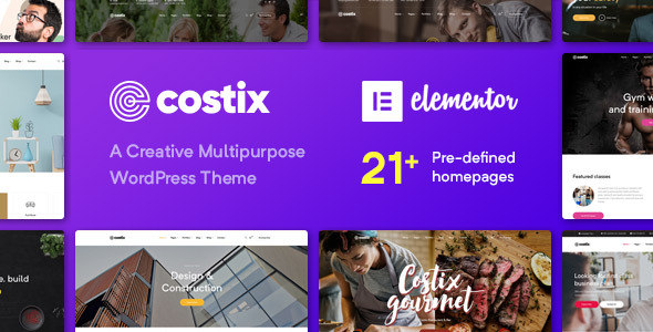 Costix - All-in-One Elementor WordPress Theme