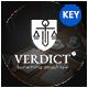 Verdict Law Keynote Template - GraphicRiver Item for Sale