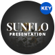 Sunflo Flower Keynote Template - GraphicRiver Item for Sale