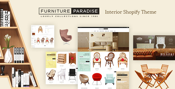 Furniture - Interior Shopify Theme
