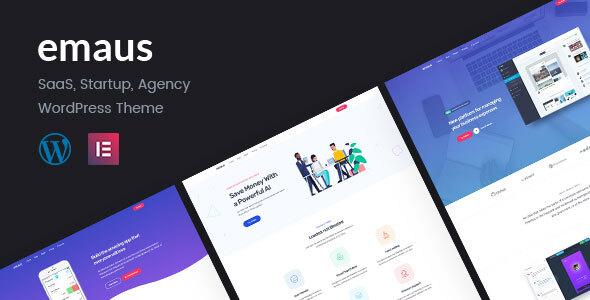 Emaus | SaaS App and Startup WordPress Theme