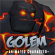 Golem animated chatacter - 3DOcean Item for Sale