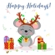 Happy New Year and Merry Christmas - GraphicRiver Item for Sale