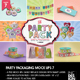 The Party Pack Packaging Mock Ups 7 - GraphicRiver Item for Sale