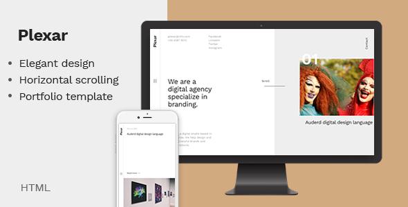 Plexar - A Portfolio and Agency Template
