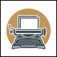 Typewriter Logo Template - GraphicRiver Item for Sale