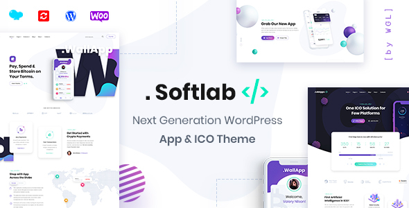 Softlab - Startup and App WordPress Theme