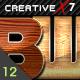 CreativeX7 - 12 Photoshop Luxury Wood Styles - GraphicRiver Item for Sale
