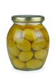 Glass jar with green olives - PhotoDune Item for Sale