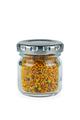Glass jar of bee gathered pollen granules - PhotoDune Item for Sale